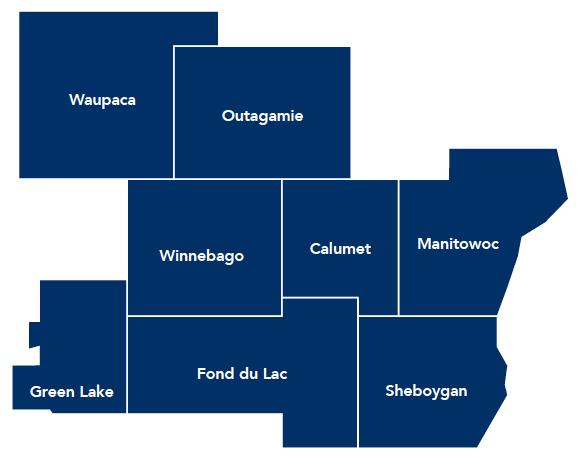 Wisconsin Counties